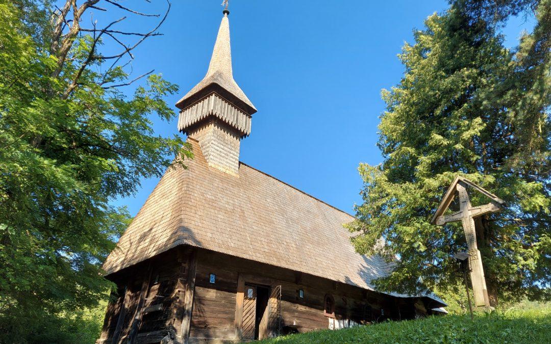 "Biserica de lemn ""Sfinții Arhangheli Mihai și Gavriil"" din Breb"