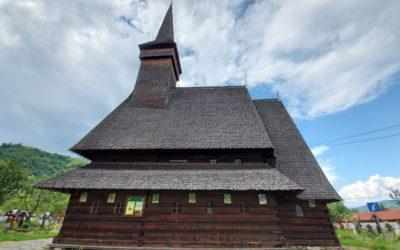 """Biserica de lemn """"Naşterea Maicii Domnului"""" din Ieud """"din Vale"""""""