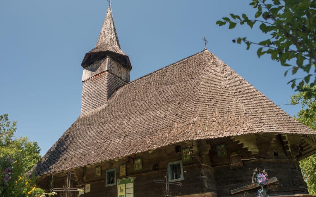 """Biserica de lemn """"Cuvioasa Paraschiva"""" din Sârbi Susani"""