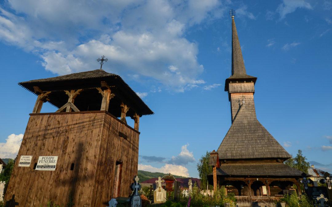 """Biserica de lemn """"Adormirea Maicii Domnului"""" din Șieu"""