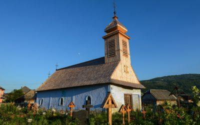 """Biserica de lemn """"Sfinții Arhangheli Mihail și Gavriil"""" din Strâmtura"""