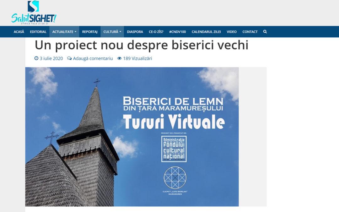 Salut Sighet – Un proiect nou, despre biserici vechi