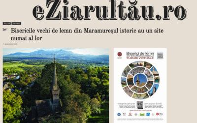 EZiarulTău – Bisericile vechi de lemn din Maramureșul istoric au un site numai al lor